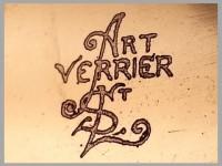 ENCY AVESN signatuur Art Verrier St Louis Pierre Girre