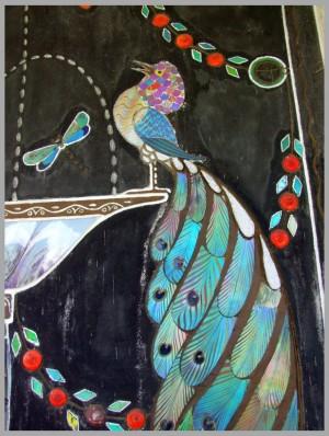 ENCY BOHEMEN VILLA Mozaiek detail