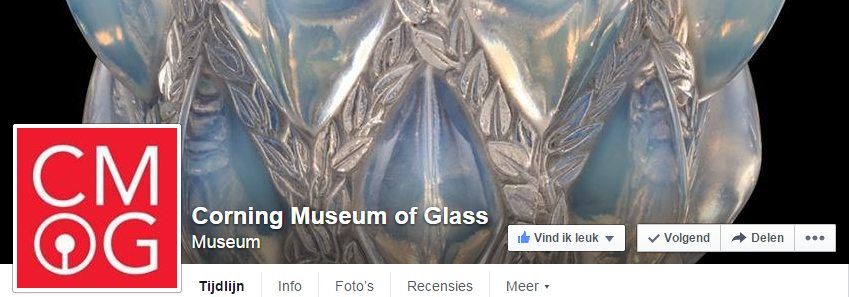 LINK Facebook Corning Museum