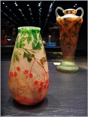 ENCY DAUM kleurig glas1900 -1910 Musee Beaux Arts 3